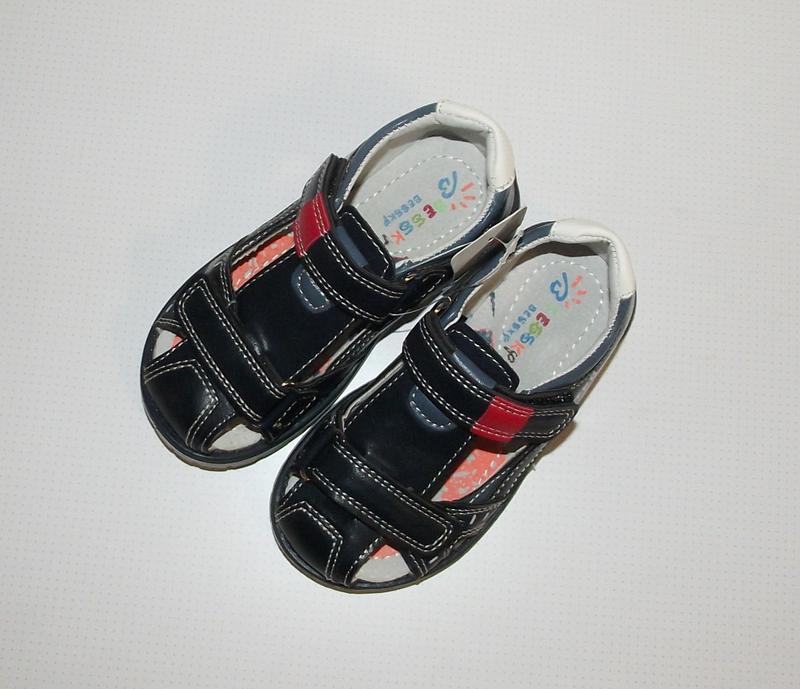 Босоножки для мальчиков закрытые bessky ортопед - Фото 4