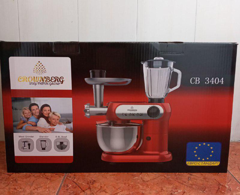 Кухонный комбайн 3в1 Crownberg CB-3404 2200W - Фото 8