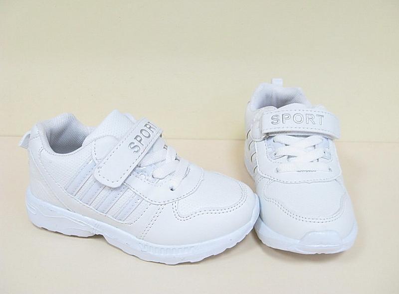 Белые кроссовки модные детские bbt - Фото 2