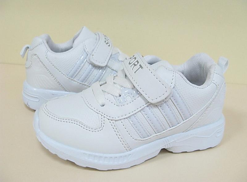 Белые кроссовки модные детские bbt - Фото 3