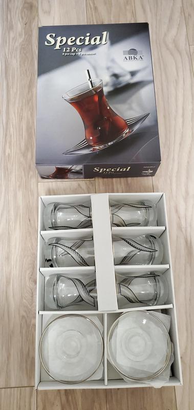 Стаканы турецкие для чая, армуды, турецкий набор для чаепития НОВ - Фото 3