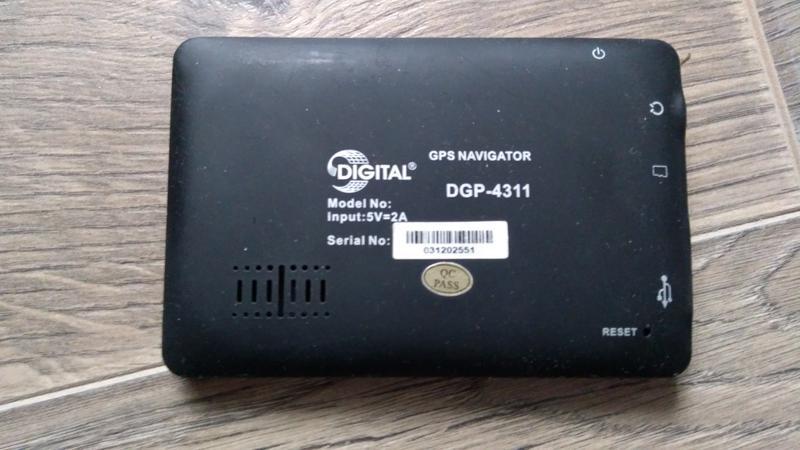 GPS-навигатор Digital DGP-4311 - Фото 3