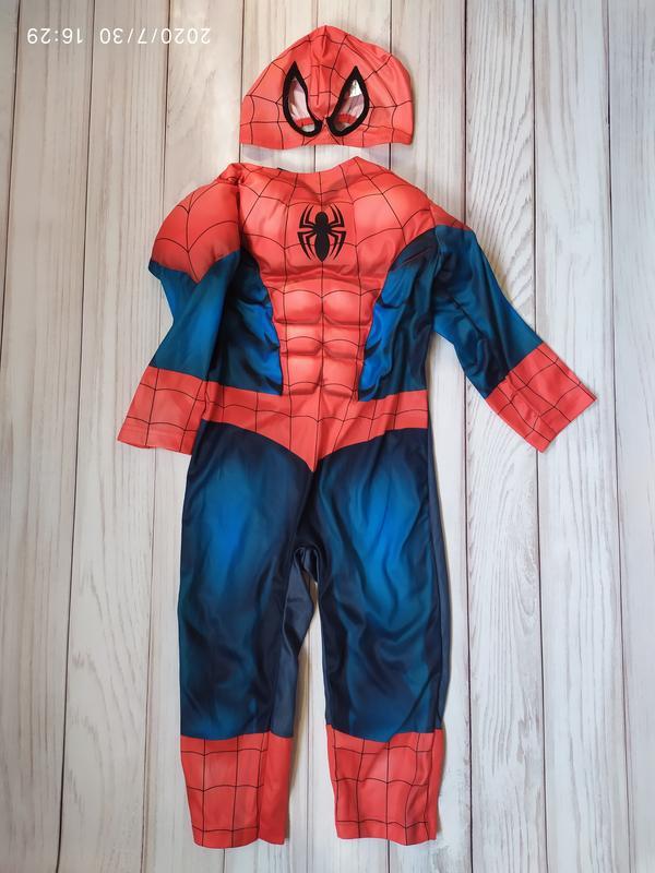Костюм человек паук 2-3 года