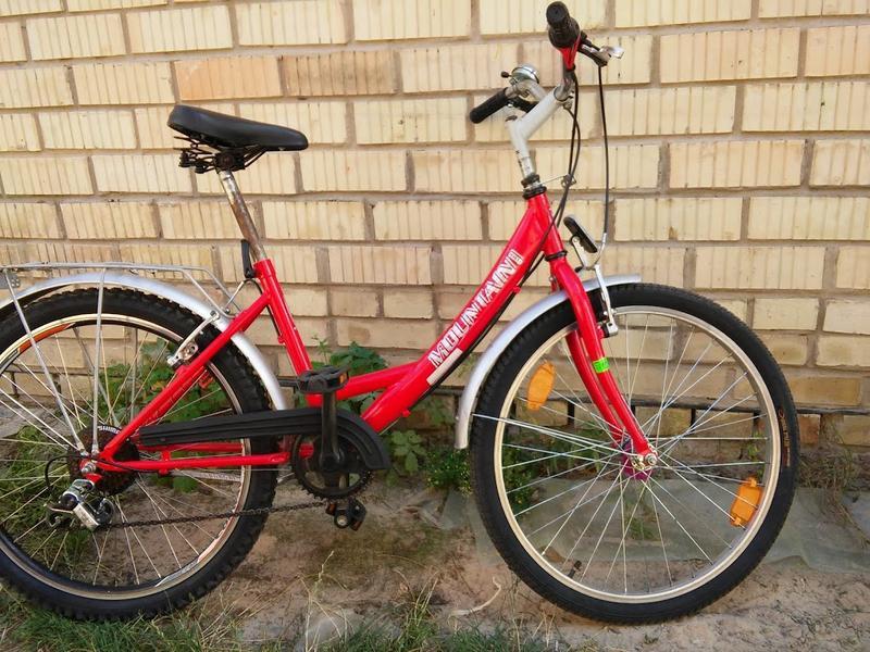 Б.у вело з Німетчини на зріст 120-150см. 7передач кол. 24д.