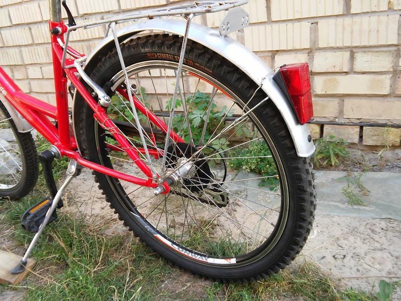 Б.у вело з Німетчини на зріст 120-150см. 7передач кол. 24д. - Фото 3