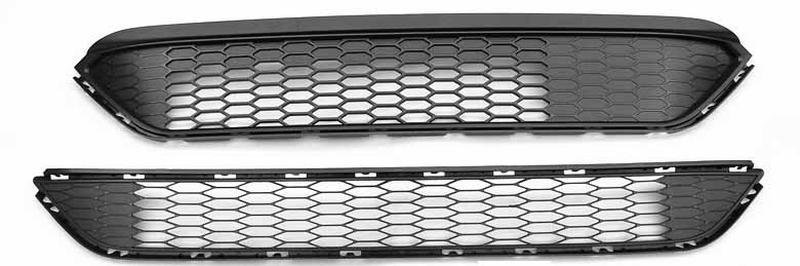 Решетка бампера нижняя Ford Edge USA 2015-2017 (2.0/2.7) пр-во Та