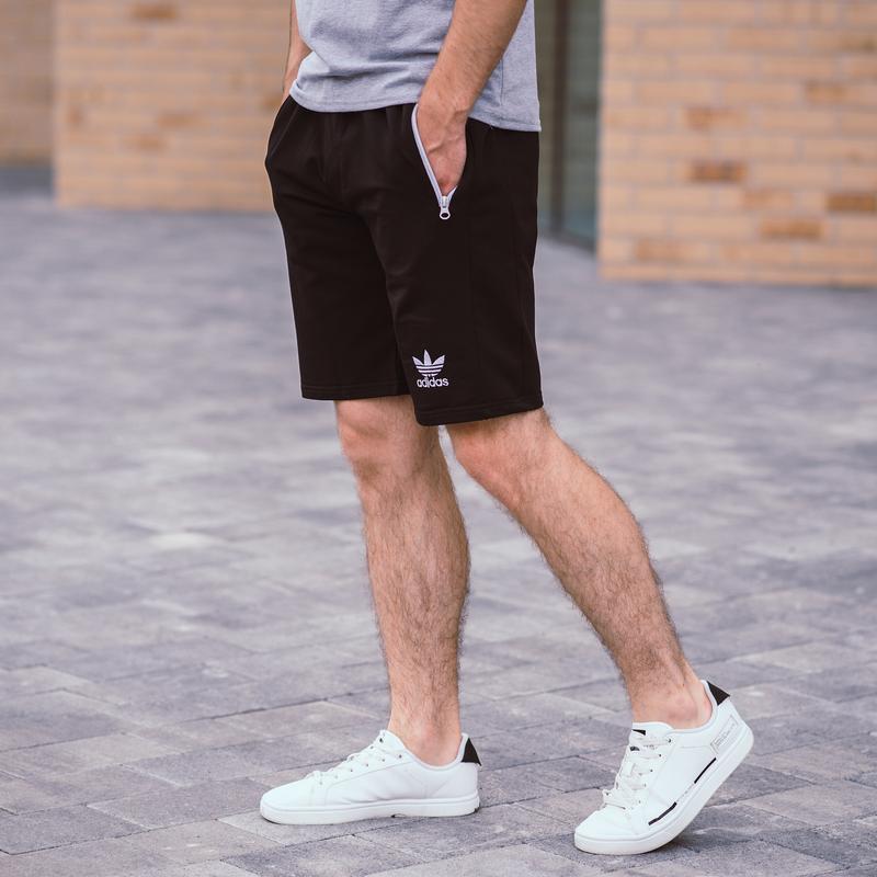 Стильные черные мужские шорты высокого качества - Фото 2