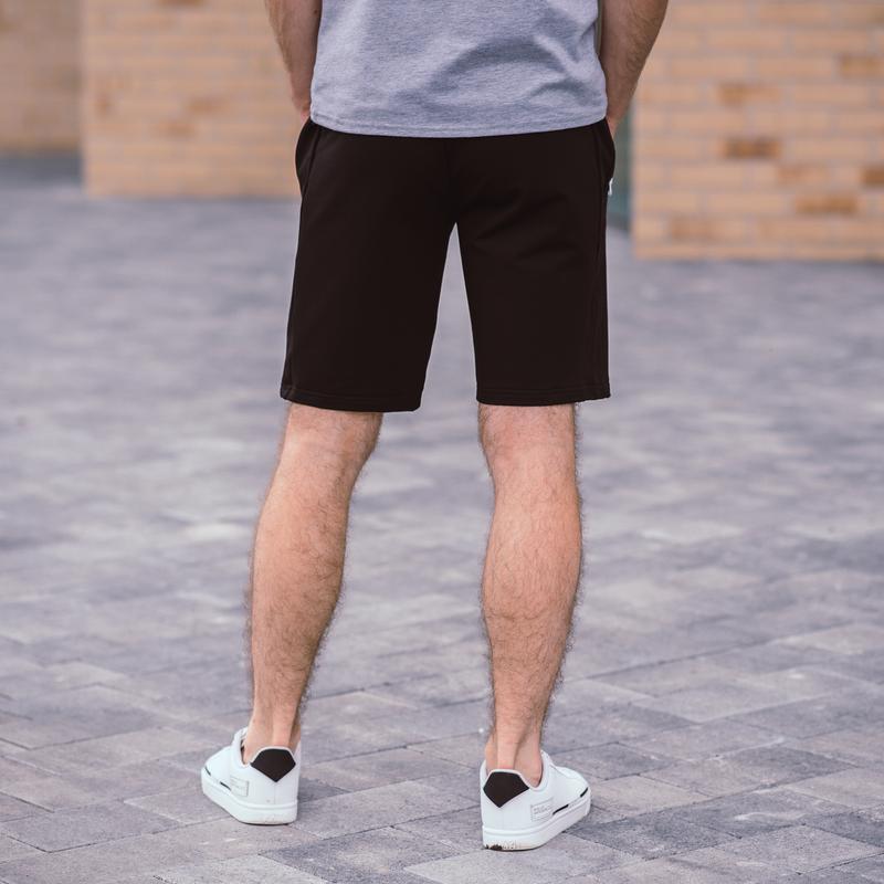 Стильные черные мужские шорты высокого качества - Фото 3