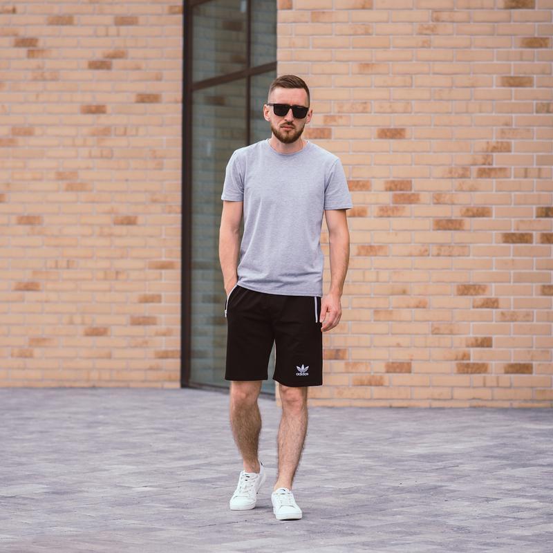 Стильные черные мужские шорты высокого качества - Фото 4