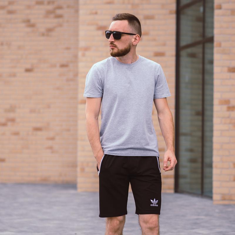Стильные черные мужские шорты высокого качества - Фото 5