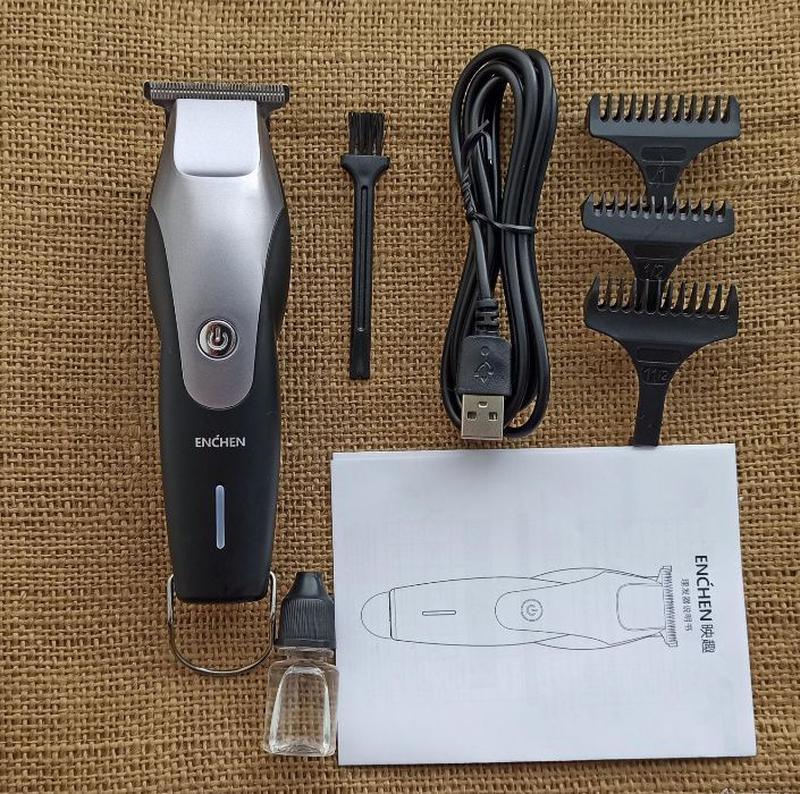 Машинка для стрижки волос Xiaomi Enchen Hummingbird - Фото 2