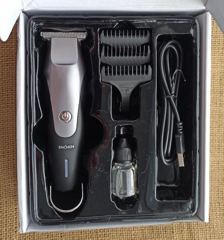 Машинка для стрижки волос Xiaomi Enchen Hummingbird - Фото 3