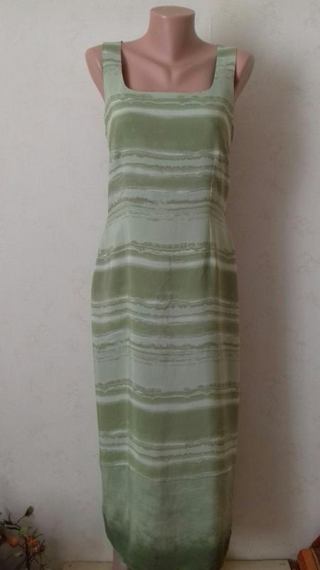 Распродажа!!!длинное вискозное платье с принтом