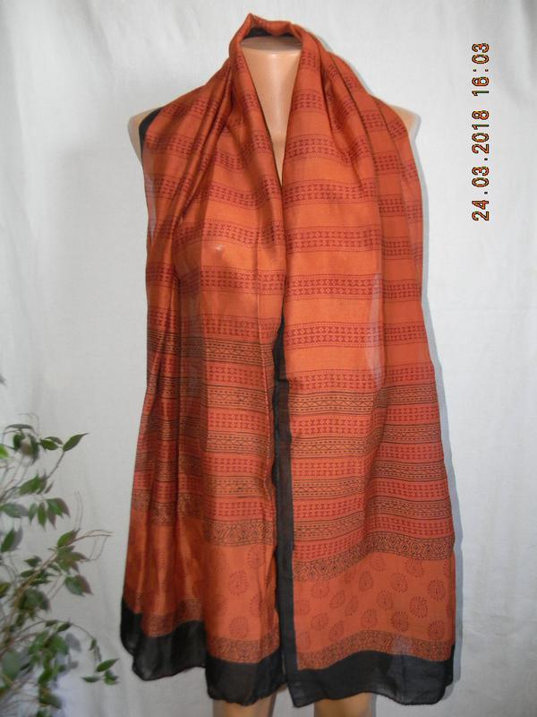 Новый натуральный шарф-палантин индия