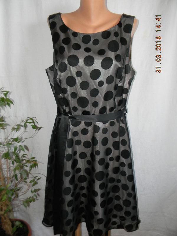 Нарядное платье в горошек