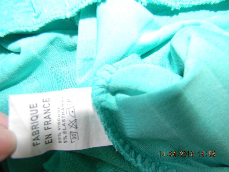 Натуральная блуза франция - Фото 4