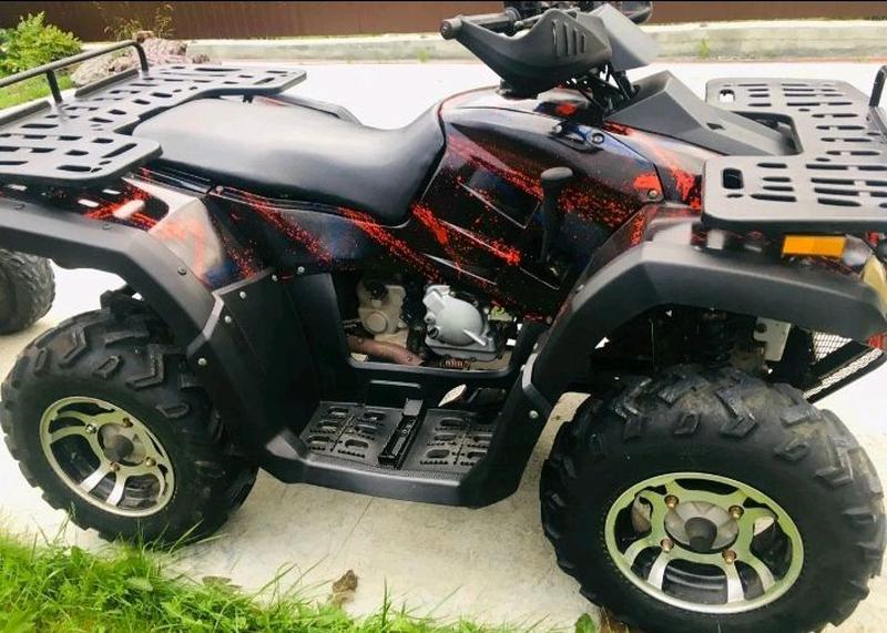 Продам срочно квадроцикл Стелс 300B