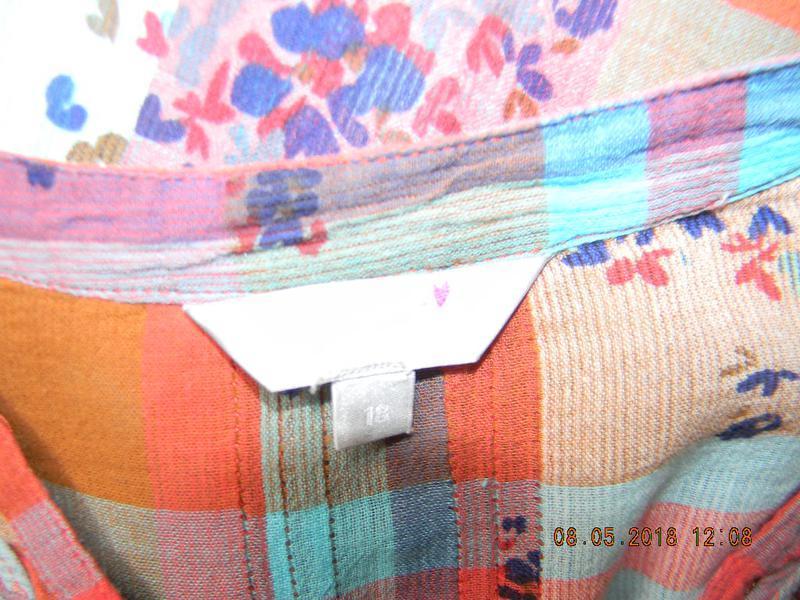 Легкая натуральная блуза-рубашка - Фото 4