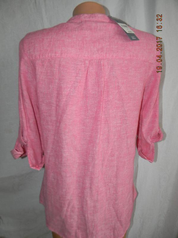 Новая блуза лен bonmarche - Фото 2