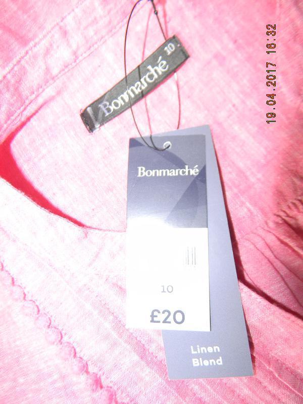 Новая блуза лен bonmarche - Фото 3
