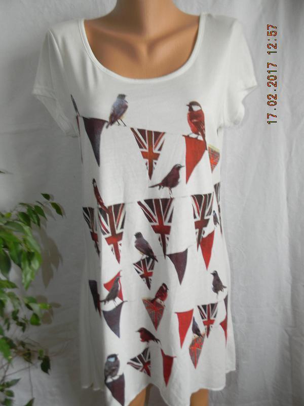 Платье-футболка с принтом george