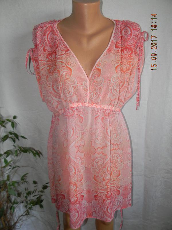 Новое пляжное платье-туника f&f