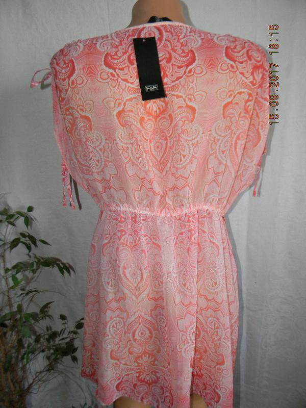 Новое пляжное платье-туника f&f - Фото 2