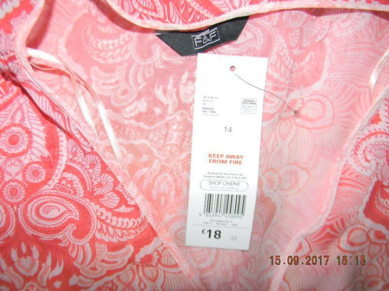 Новое пляжное платье-туника f&f - Фото 4