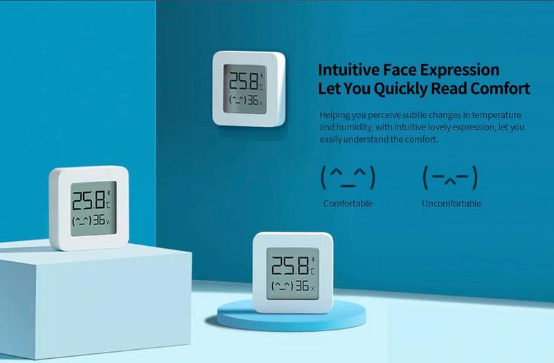 Термометр/гигрометр XIAOMI MIJIA Bluetooth LYWSD03MMC - Фото 2
