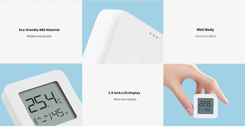 Термометр/гигрометр XIAOMI MIJIA Bluetooth LYWSD03MMC - Фото 9