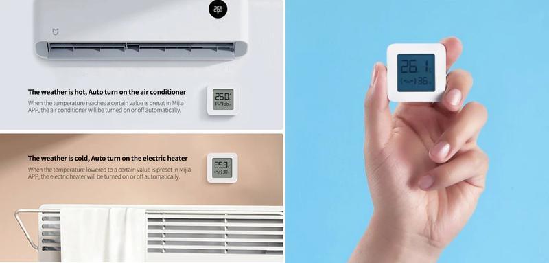 Термометр/гигрометр XIAOMI MIJIA Bluetooth LYWSD03MMC - Фото 8