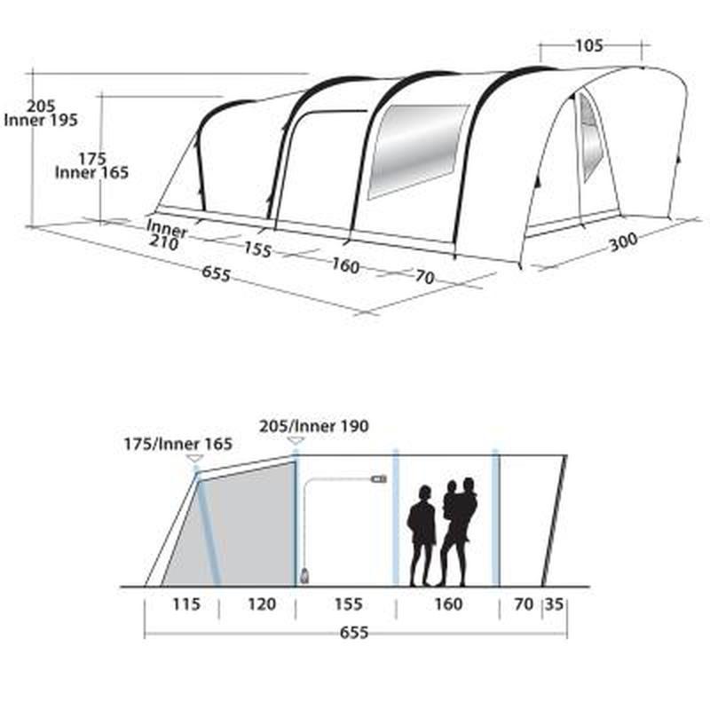 Продам пяти местную палатку! Хорошо подойдет для большой семьи!!! - Фото 9