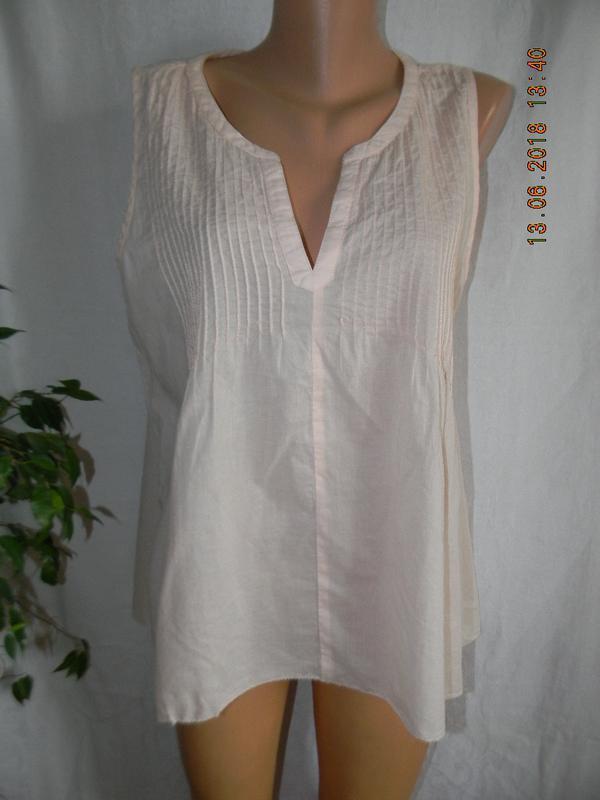 Новая легкая натуральная блуза h&m
