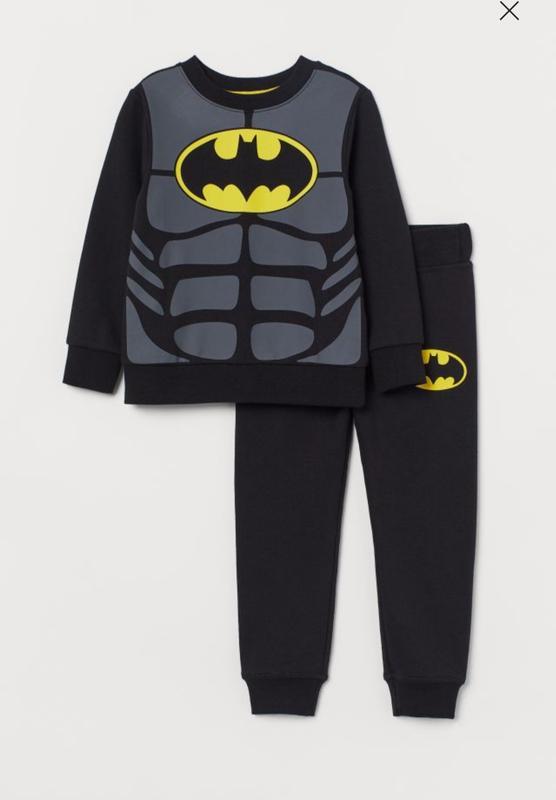 Новый костюм для мальчика  бетмен h&m от 2 до 6 лет