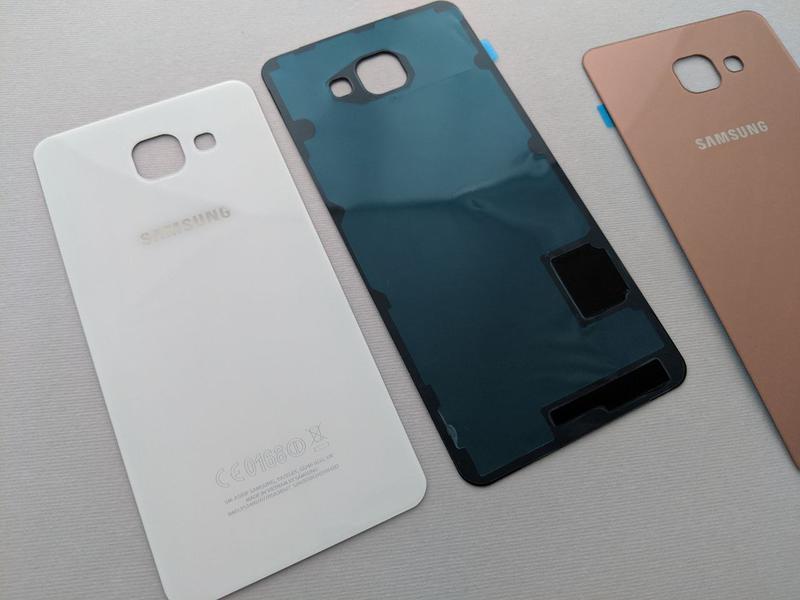 Samsung Galaxy a3 a5 a7 (2016) задняя крышка стекло a310 a510 зад - Фото 6
