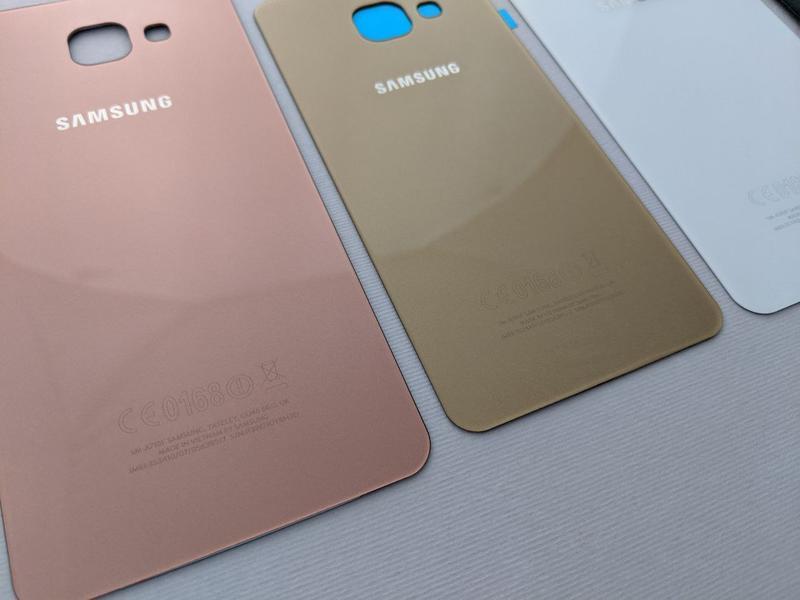 Samsung Galaxy a3 a5 a7 (2016) задняя крышка стекло a310 a510 зад - Фото 5