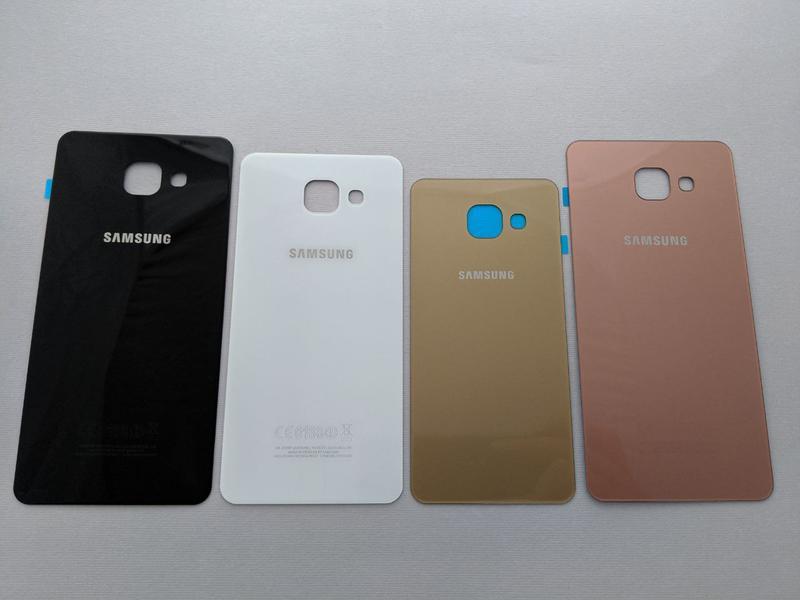 Samsung Galaxy a3 a5 a7 (2016) задняя крышка стекло a310 a510 зад - Фото 2