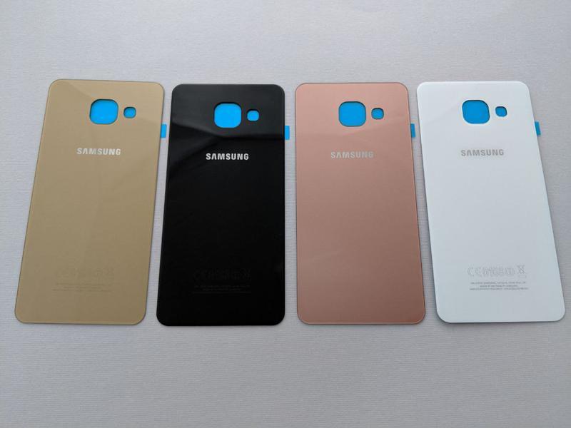 Samsung Galaxy a3 a5 a7 (2016) задняя крышка стекло a310 a510 зад - Фото 3