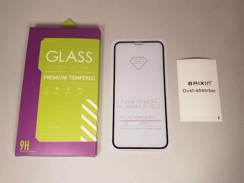 Apple iPhone 11 Pro / 11 Pro Max / 11 стекло защитное 5D FULL ...