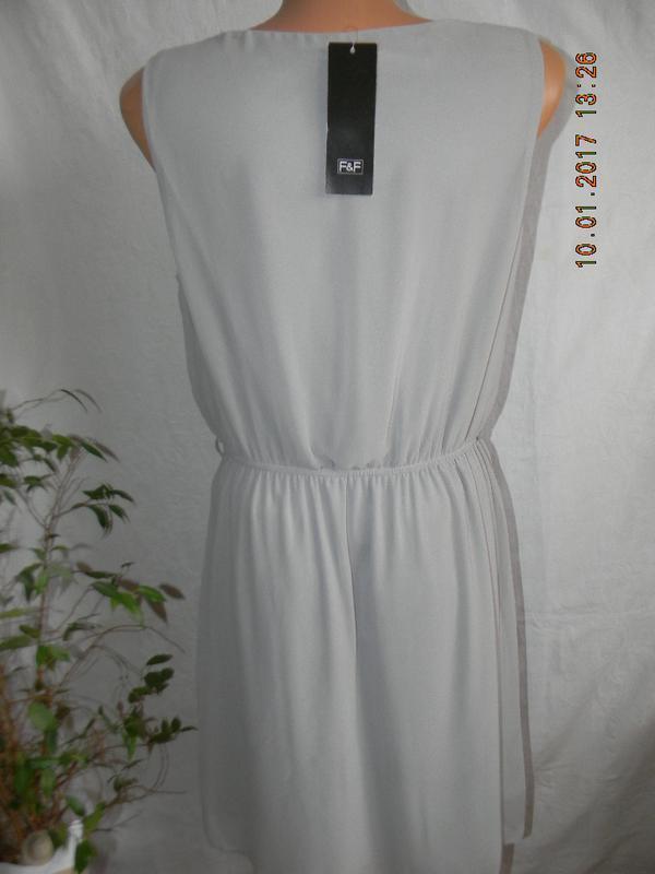 Новое шифоновое платье f&f - Фото 3