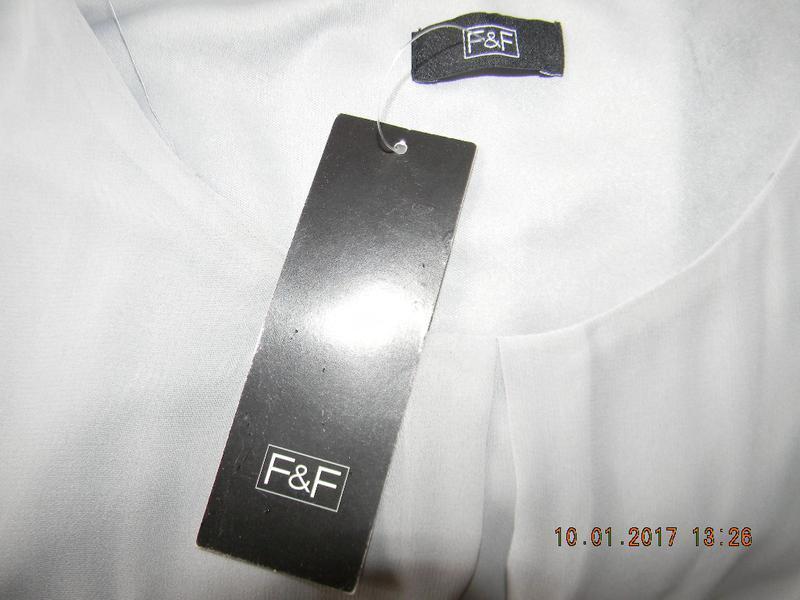 Новое шифоновое платье f&f - Фото 4