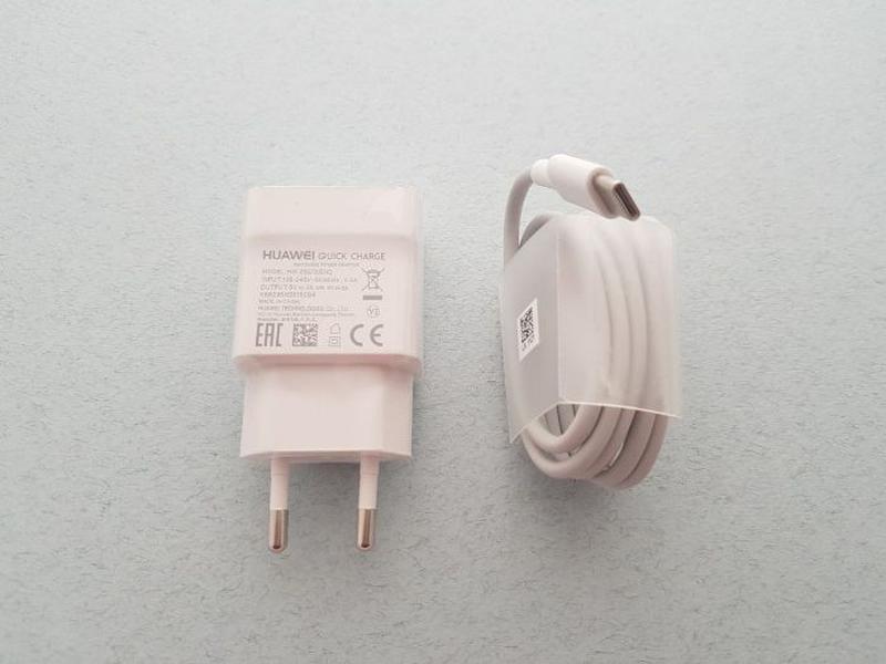 Huawei Type C быстрое зарядное и кабель оригинал P9 P10 8 P20 ... - Фото 5