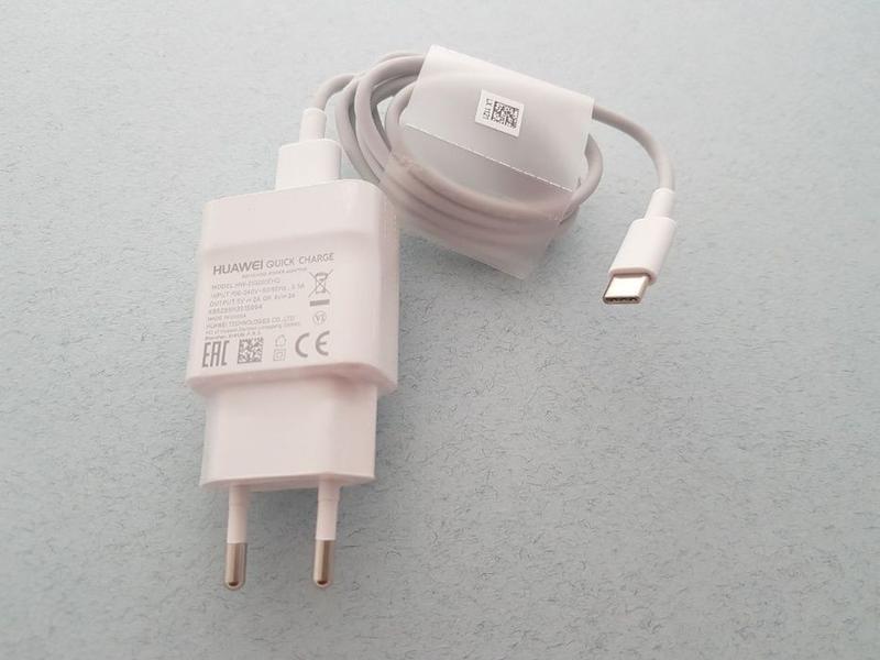 Huawei Type C быстрое зарядное и кабель оригинал P9 P10 8 P20 ... - Фото 7