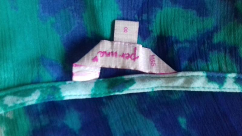 Яркая шифоновая нарядная маечка per una - Фото 3