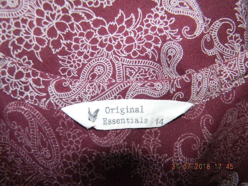 Натуральная легкая блуза - Фото 4