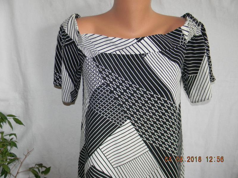 Новое легкое платье с открытыми плечами new look - Фото 4