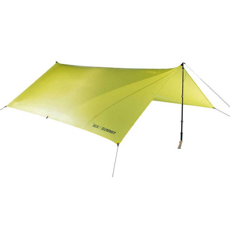 Тент Sea to Summit Escapist 15D Tarp Medium Lime