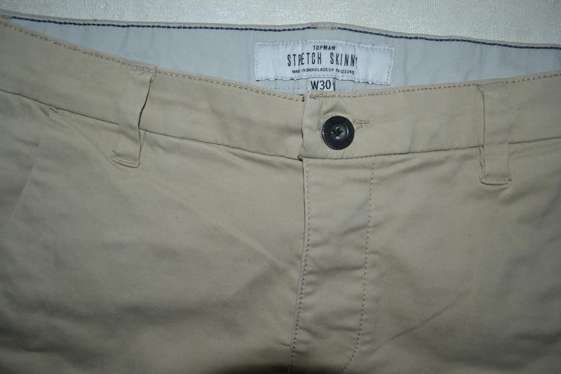 Мужские шорты бриджи бермуты topman (топмэн) - Фото 3