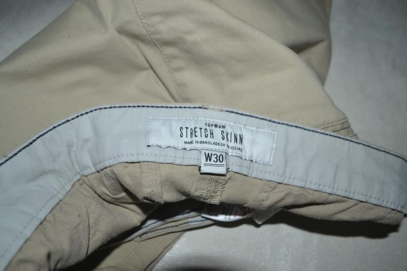 Мужские шорты бриджи бермуты topman (топмэн) - Фото 7