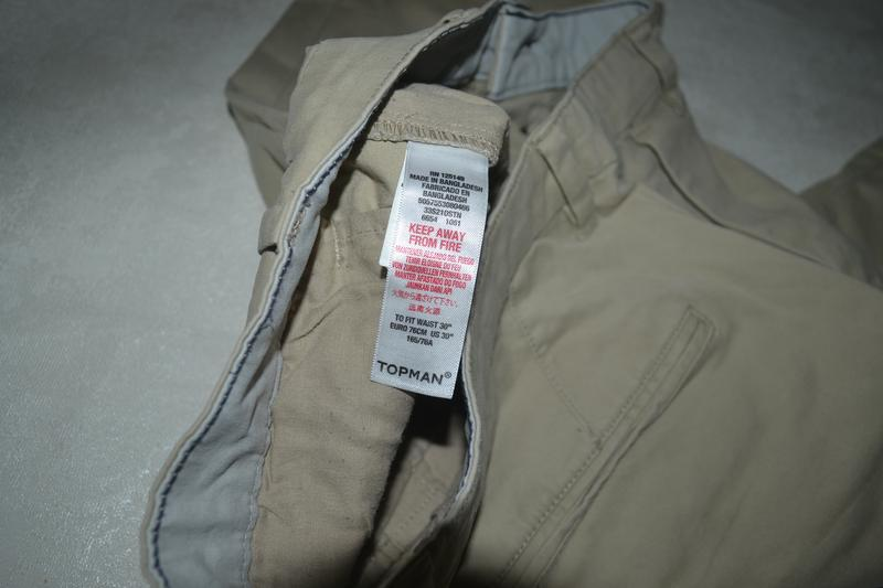 Мужские шорты бриджи бермуты topman (топмэн) - Фото 8